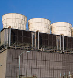 Cooling towers for hotel